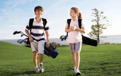 Meld deg på årets golfskole for barn og unge